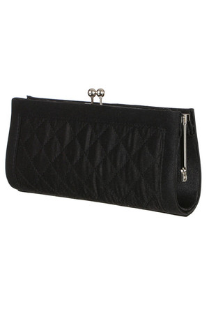 Women's clutch with pattern and stylish fastening. Large compartment and small pocket inside. Chain strap 125cm.
