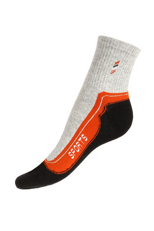 Women's cotton socks. Material: 95% cotton, 5% polyamide.