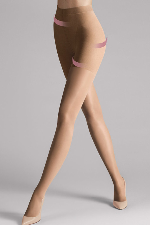 Elastic tights with push-up effect