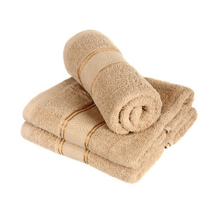 Quality terry towel with modern pattern. High suction power. Size: 70 x 140 cm. Material: 100% cotton.