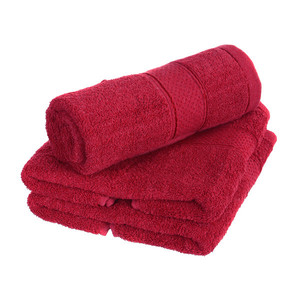 High-quality terry towel in warm colors with a modern pattern. High suction ability. With practical hanging loop. Weight: 475