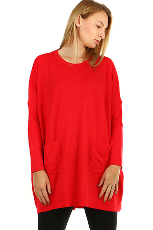 Oversized knit dress / sweater - fashionable casual cut is very comfortable to wear. comfortable material - thinner knit