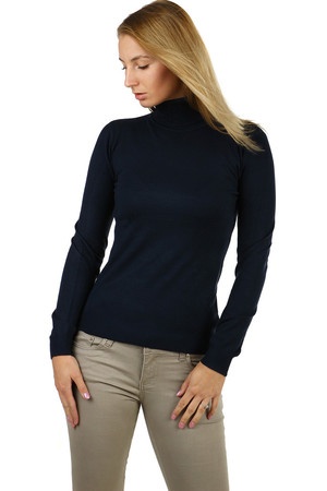 Women's turtleneck in elegant design, without which you can not do in your wardrobe. variable to jeans, skirt, trousers,