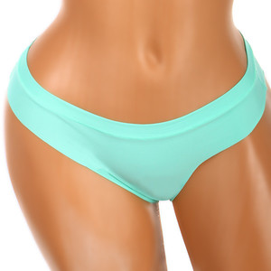 Seamless colorful thong. Material: 95% polyamide, 5% elastane.